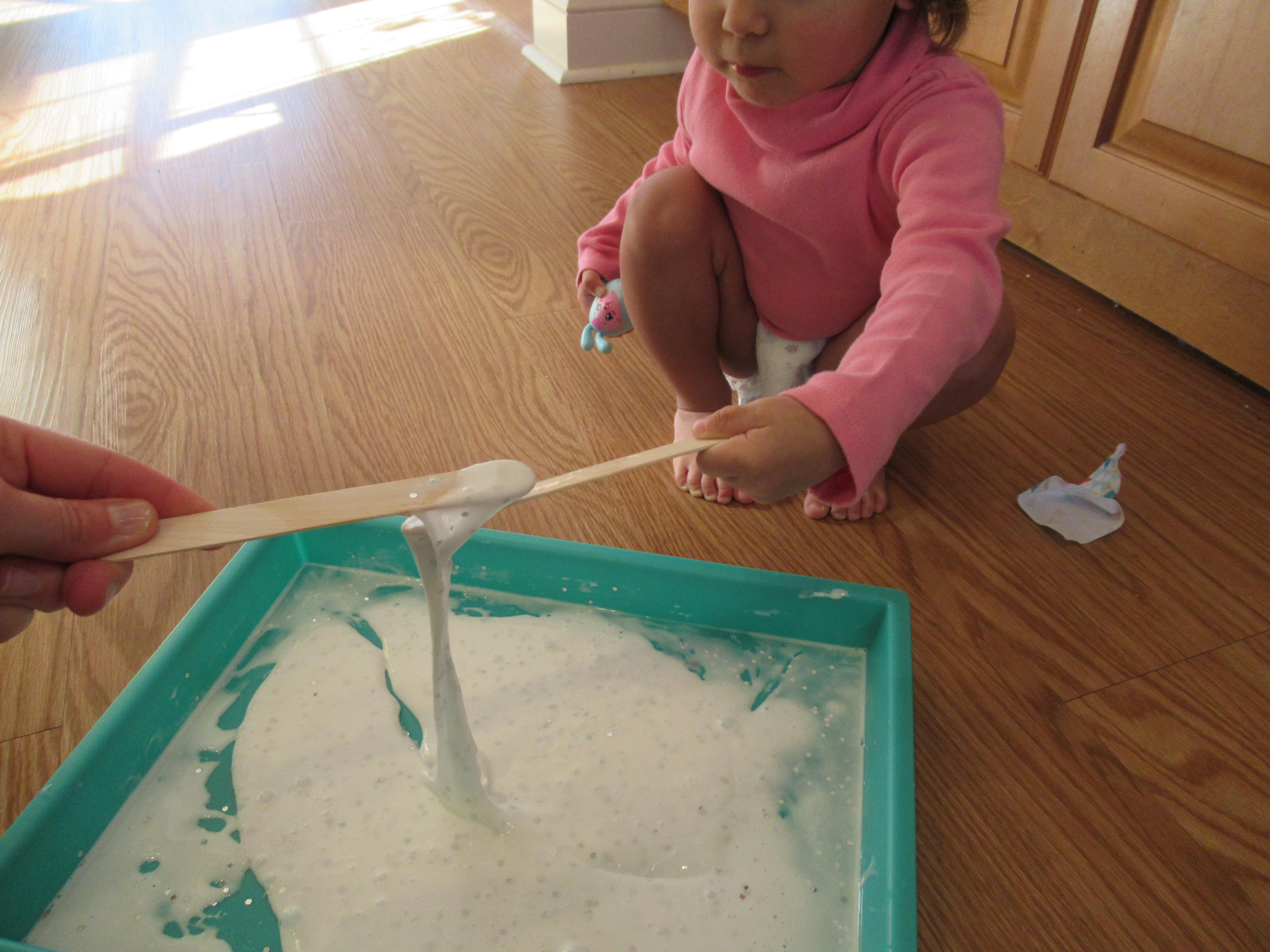 Winter Snowflake Slime (5)