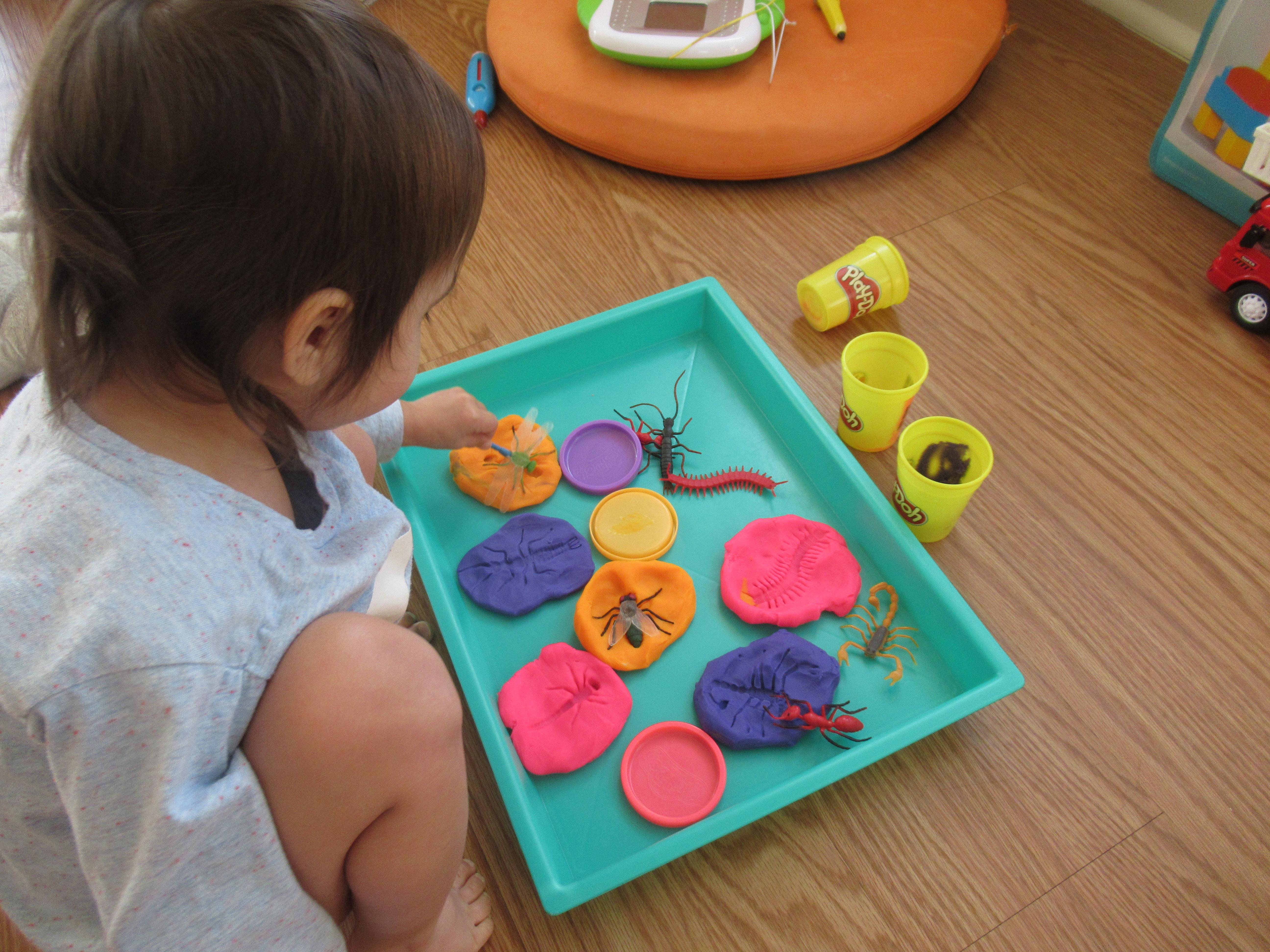Bug Fo7)ssil Play Dough