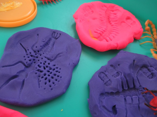 Bug Fossil Play Dough (9)