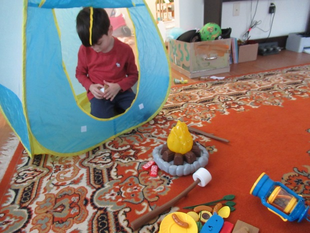 Camping Pretend Play (1)