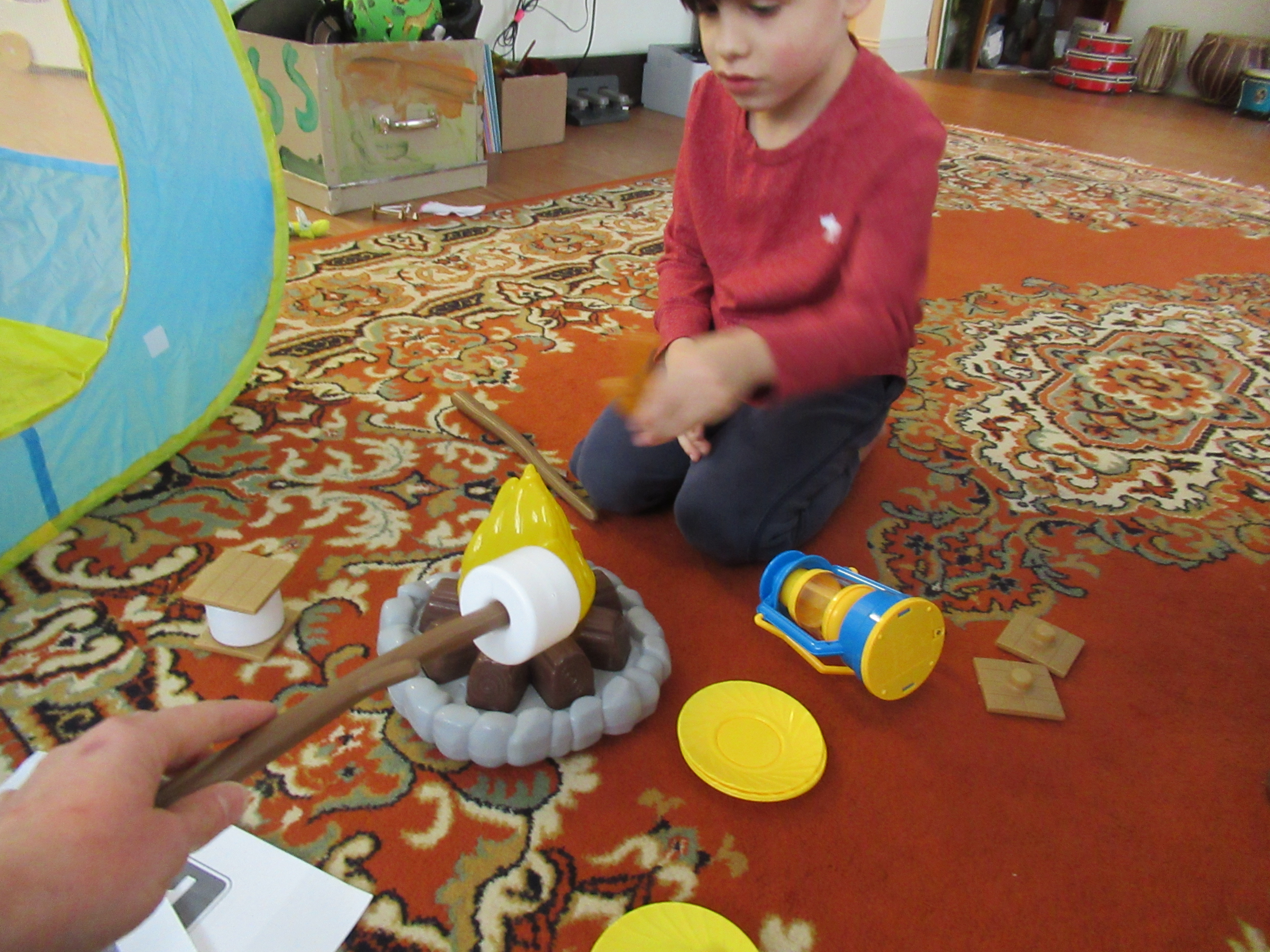 Camping Pretend Play (2)