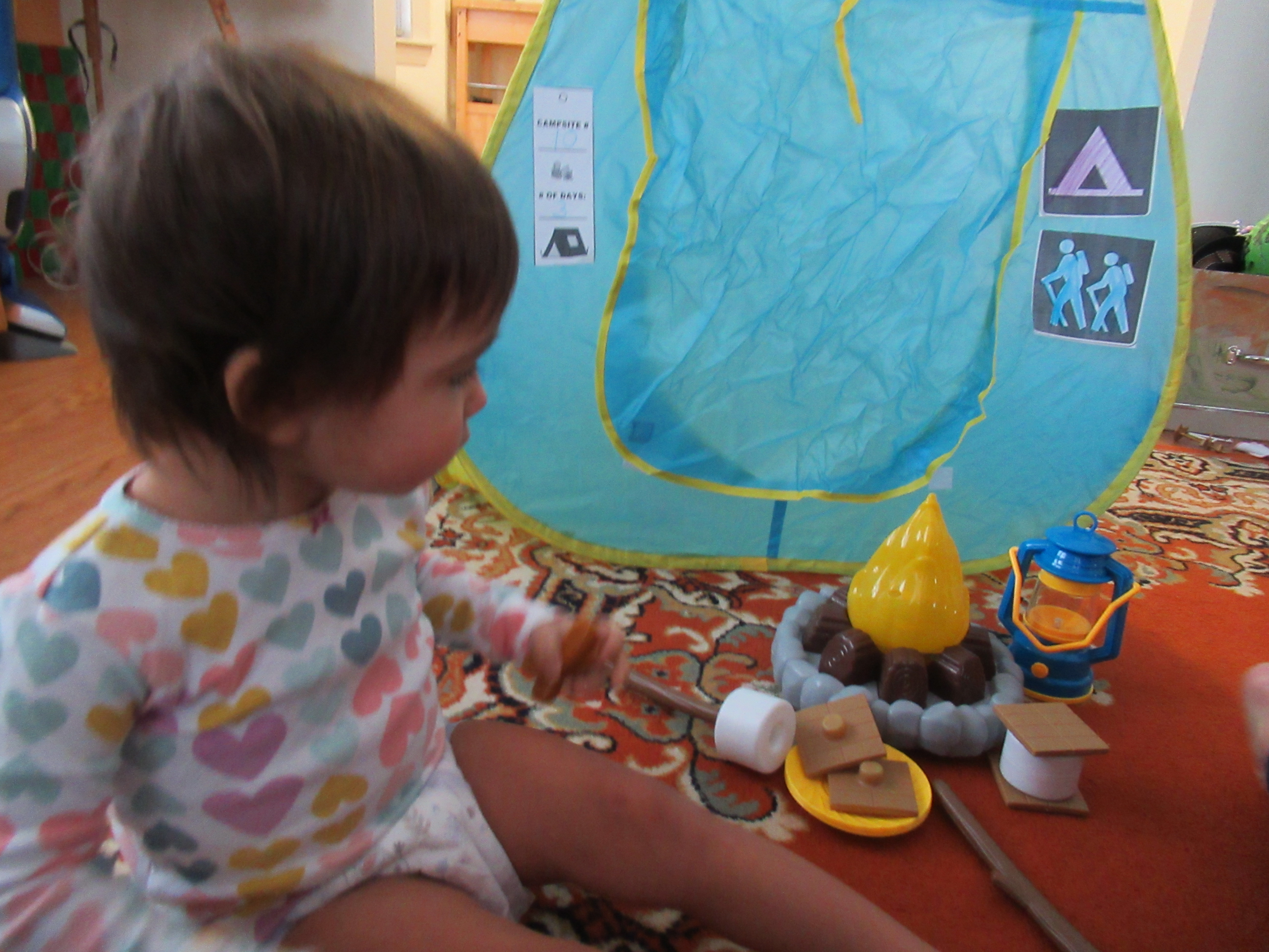 Camping Pretend Play (8)