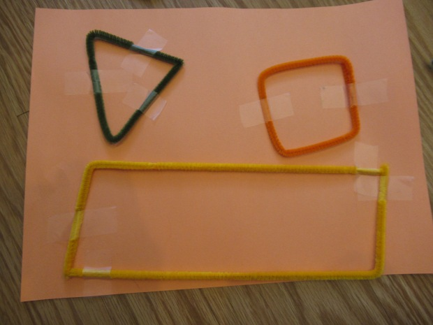 Pipe Cleaner Shapes (2)