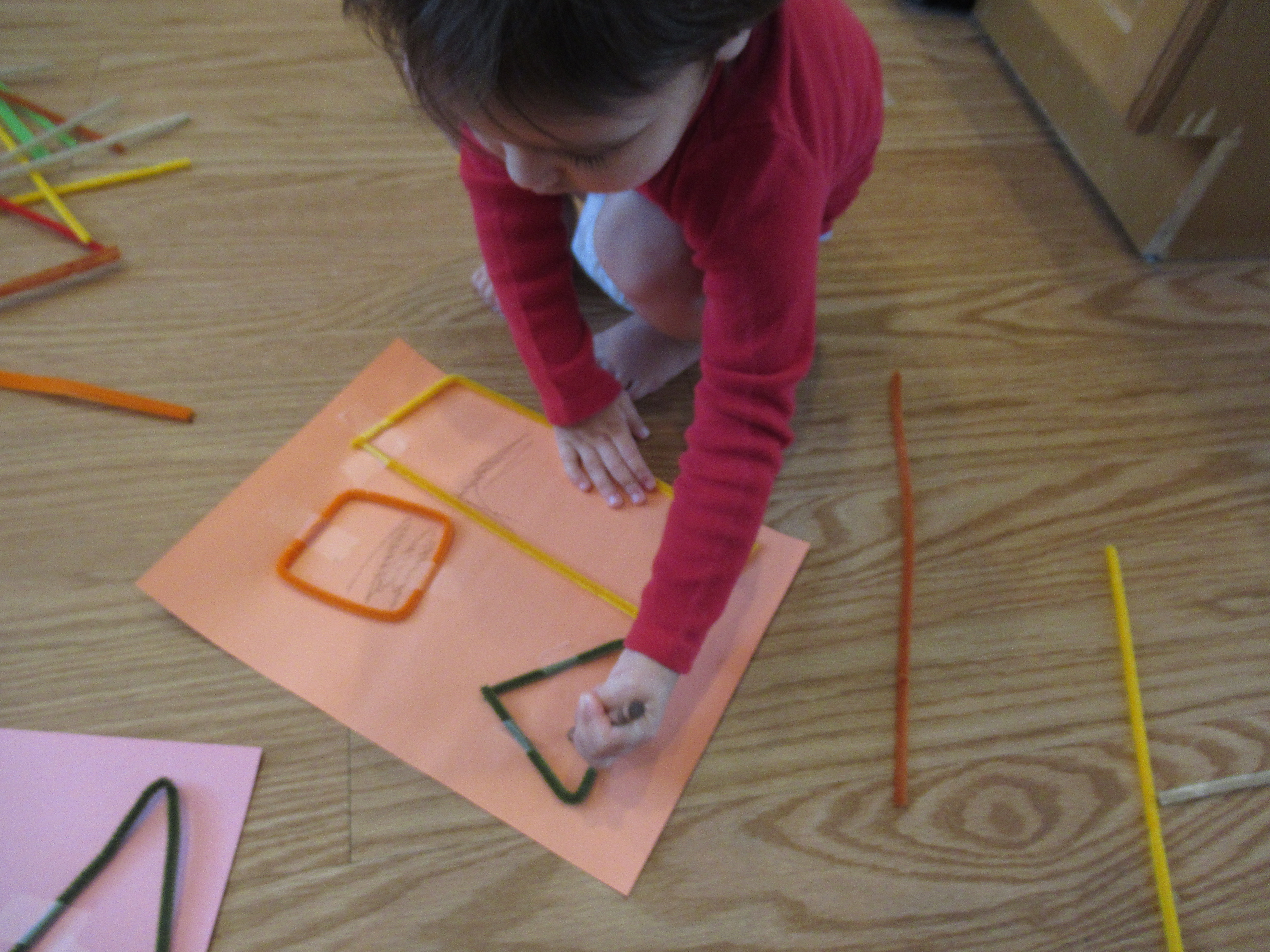 Pipe Cleaner Shapes (3)