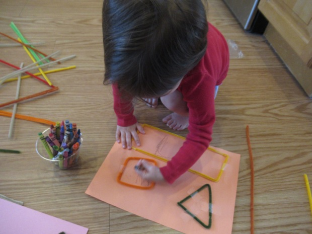 Pipe Cleaner Shapes (4)