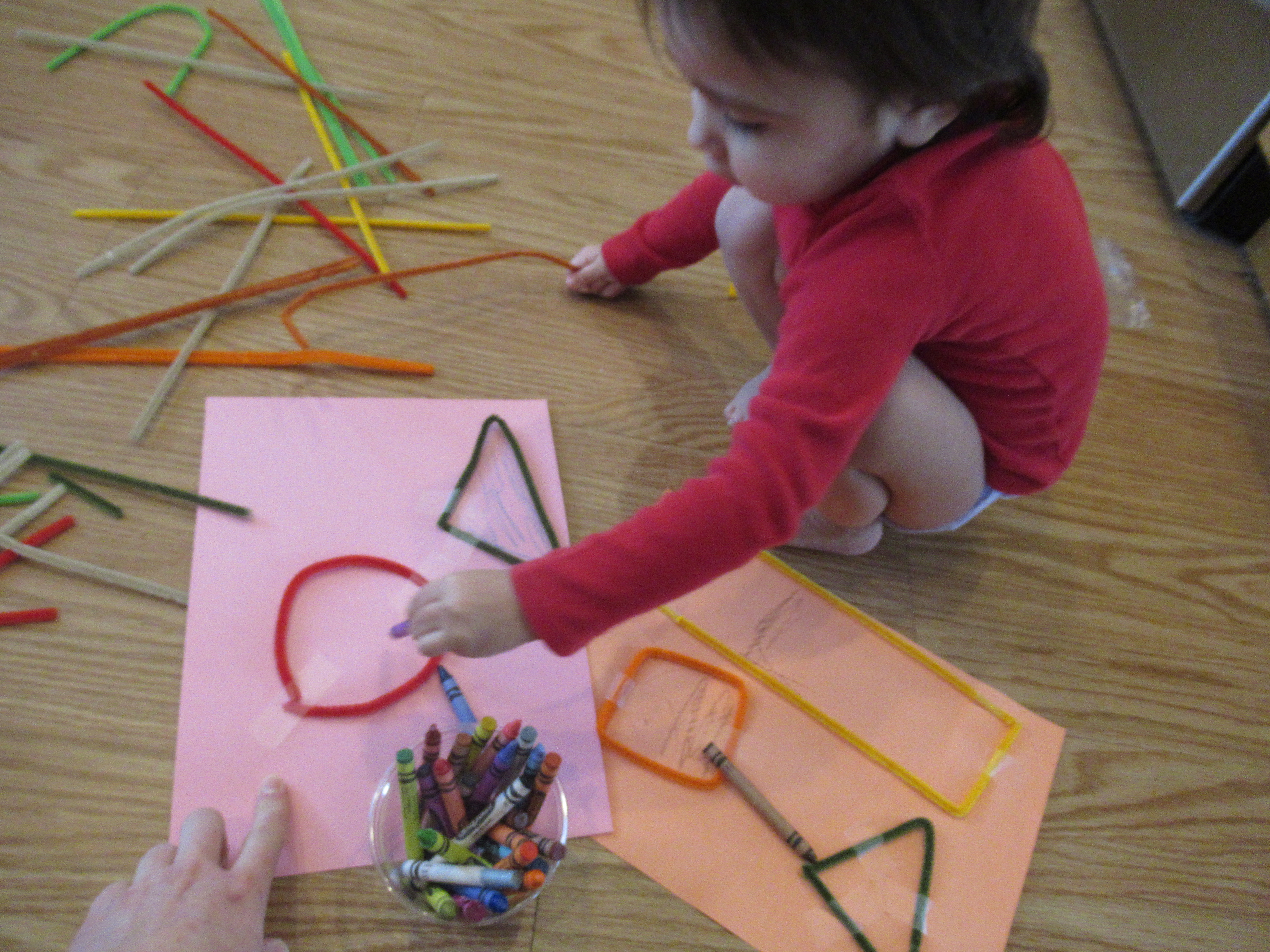 Pipe Cleaner Shapes (5)