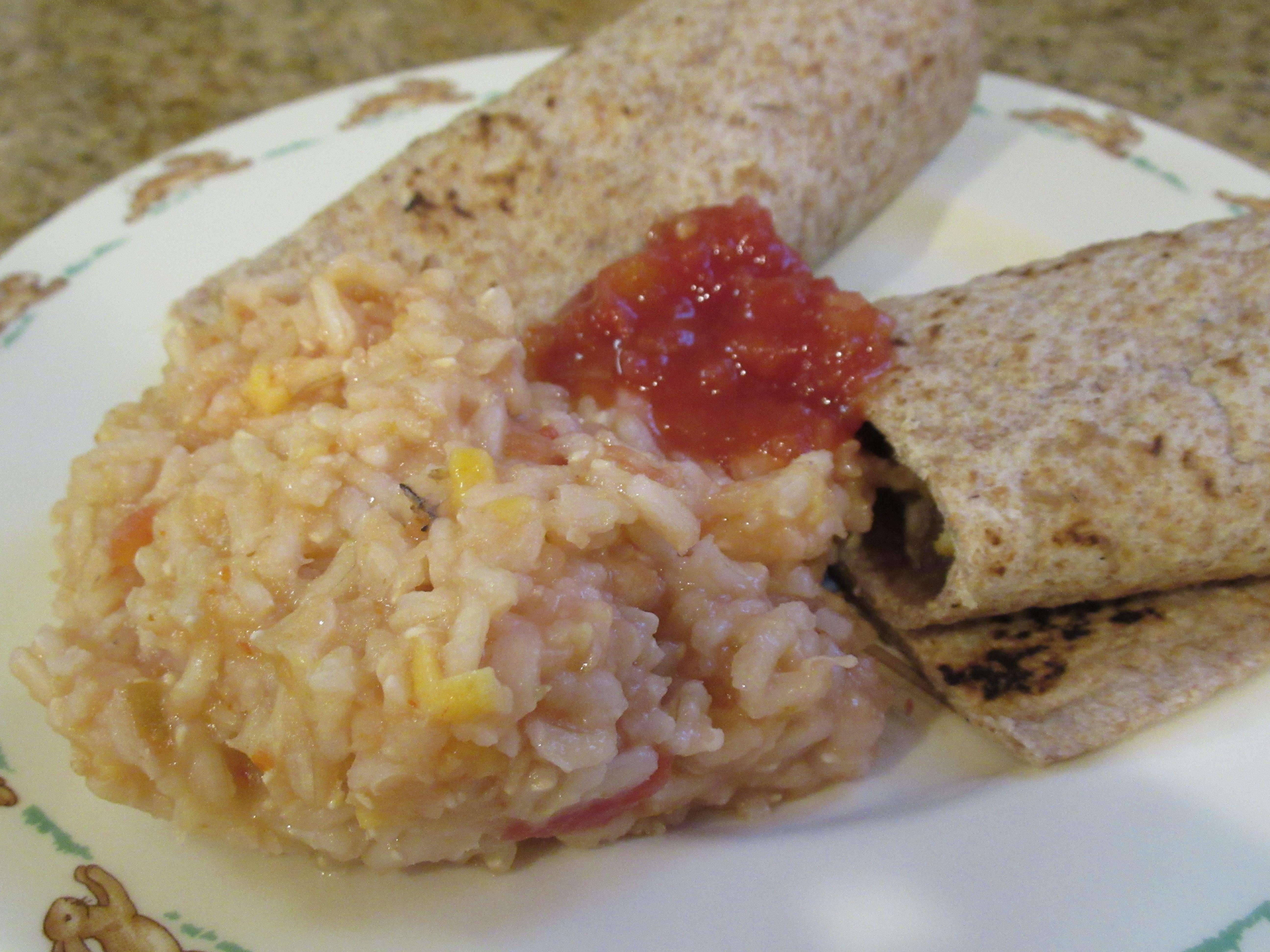 Spanish Rice Burritos (1)
