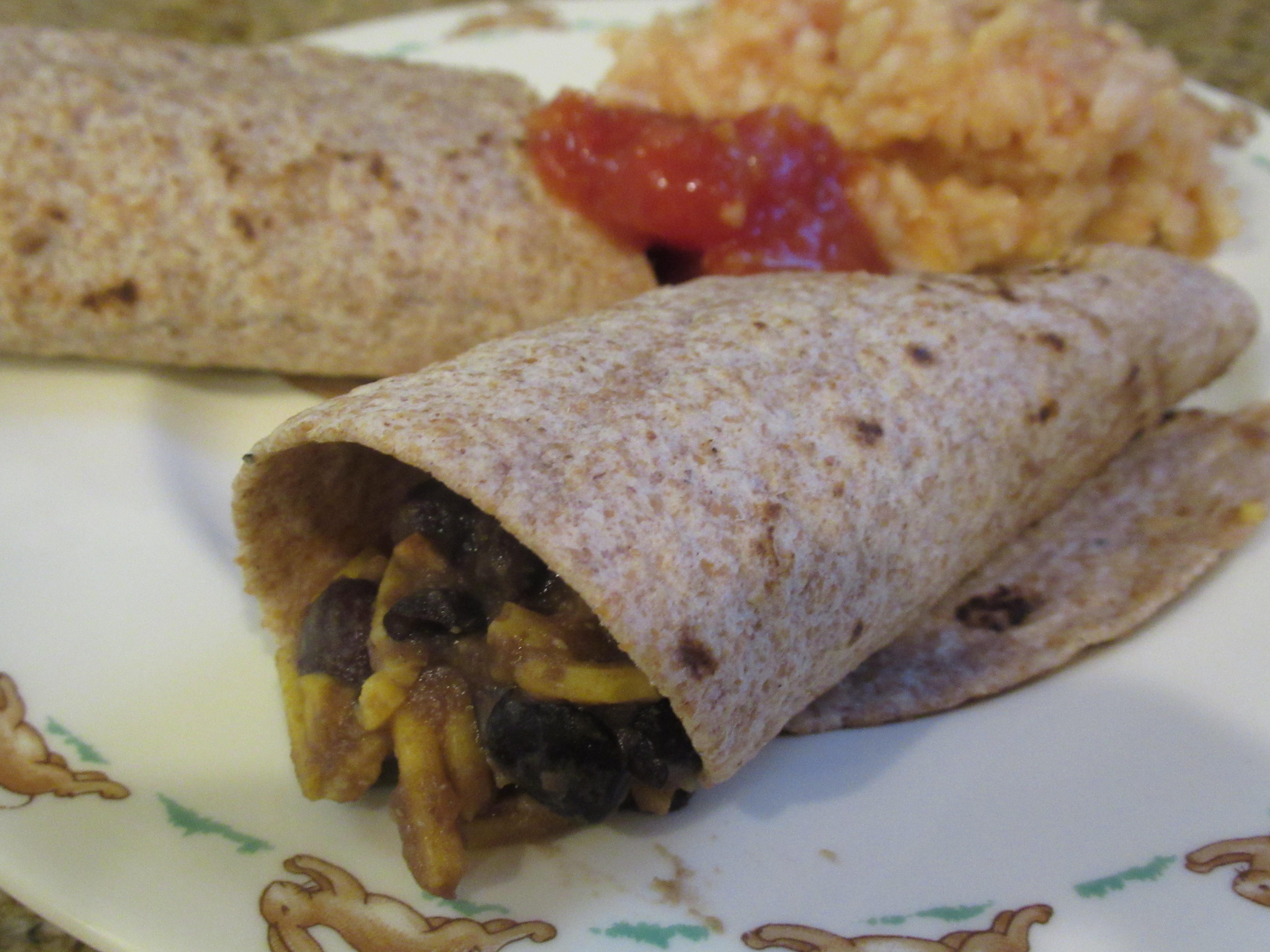 Spanish Rice Burritos (2)