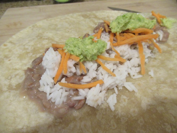 Veggie Burrito (1)