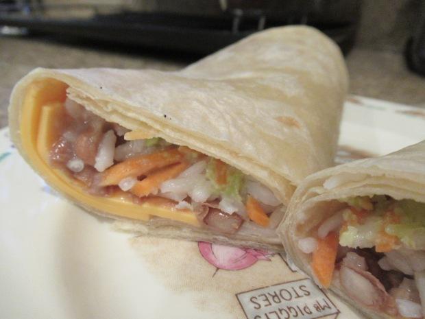 Veggie Burrito (2)