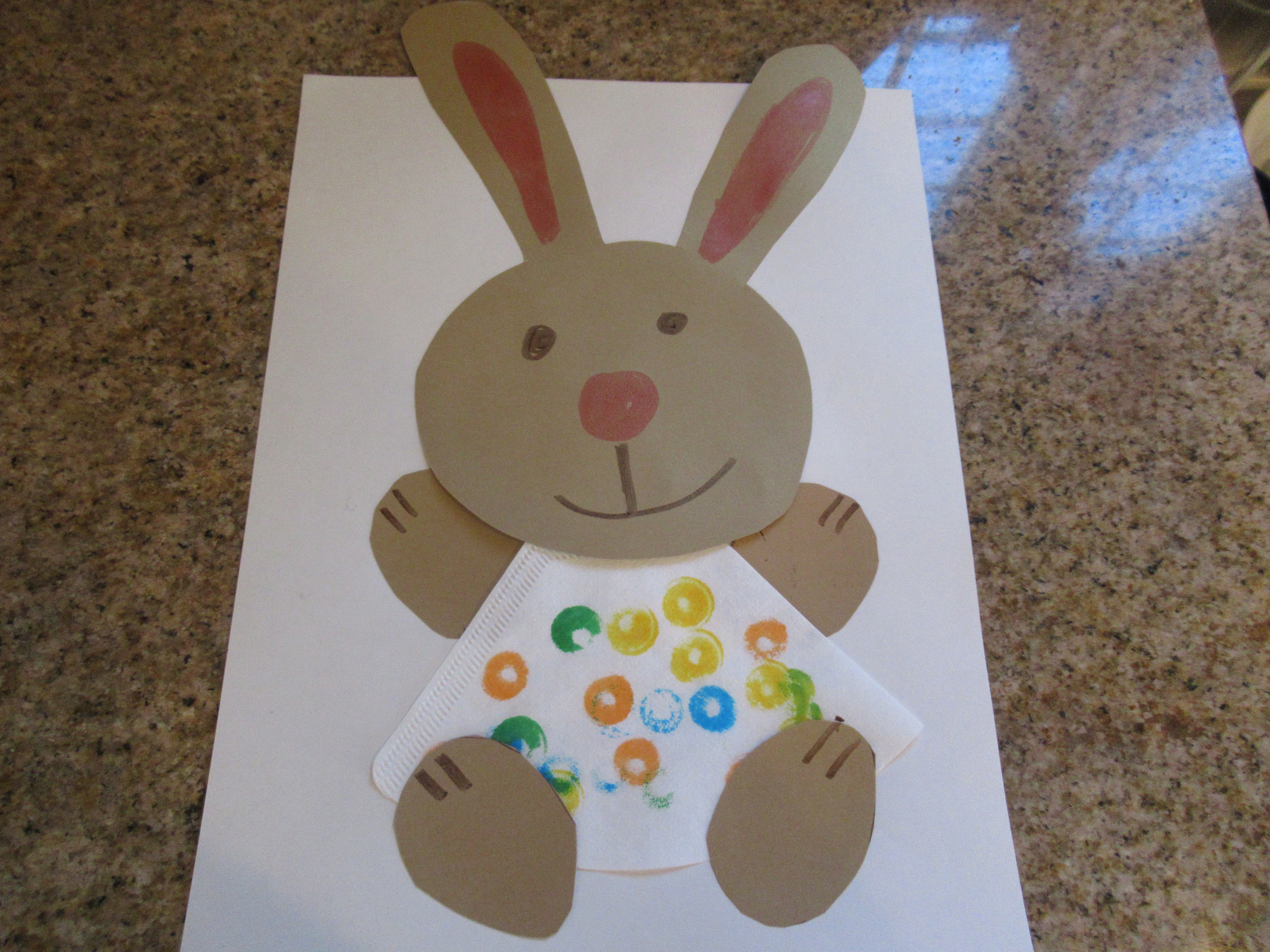Coffee Filter Bunny (6)