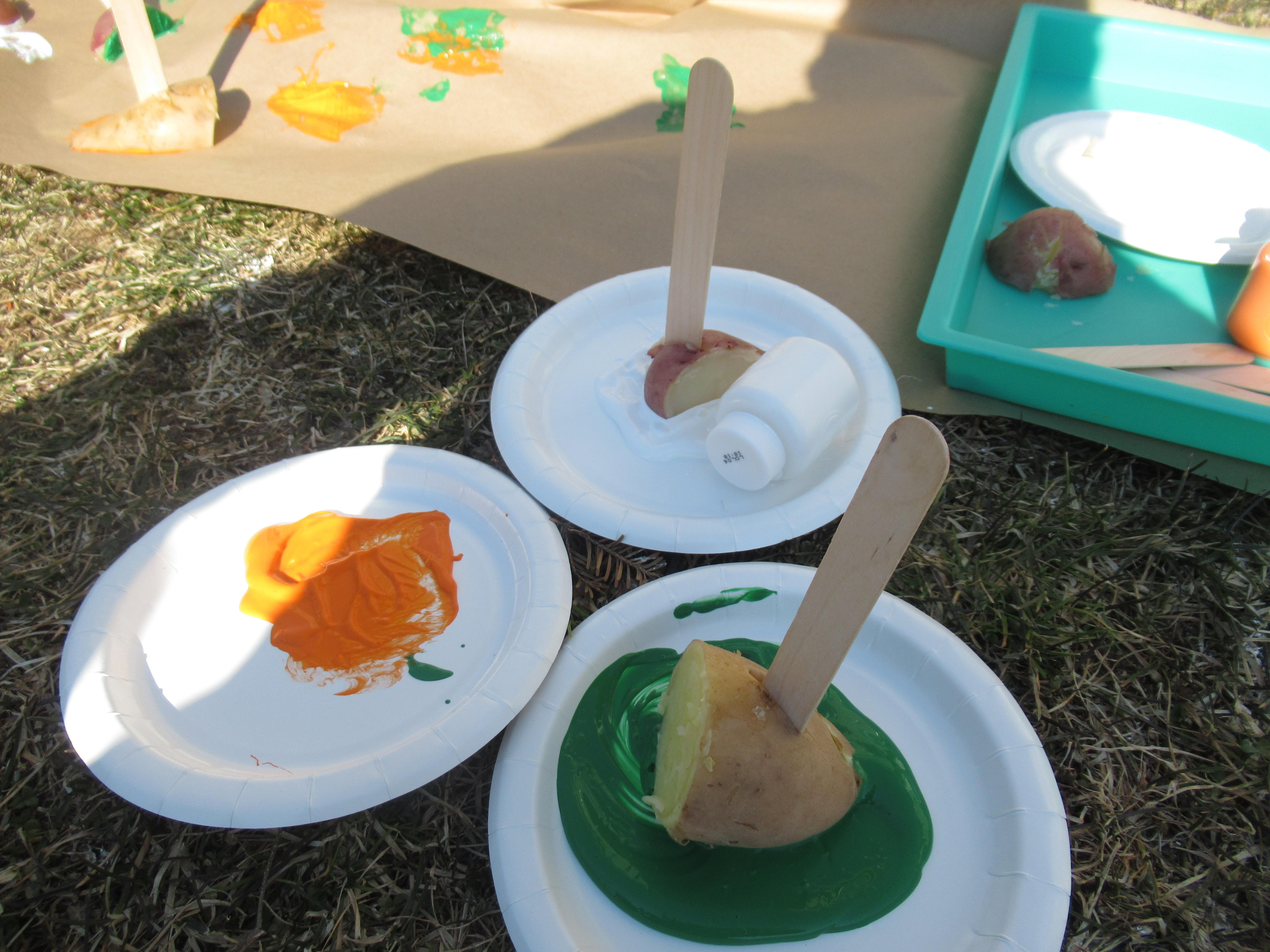 Messy Potato Drop Paint (5)