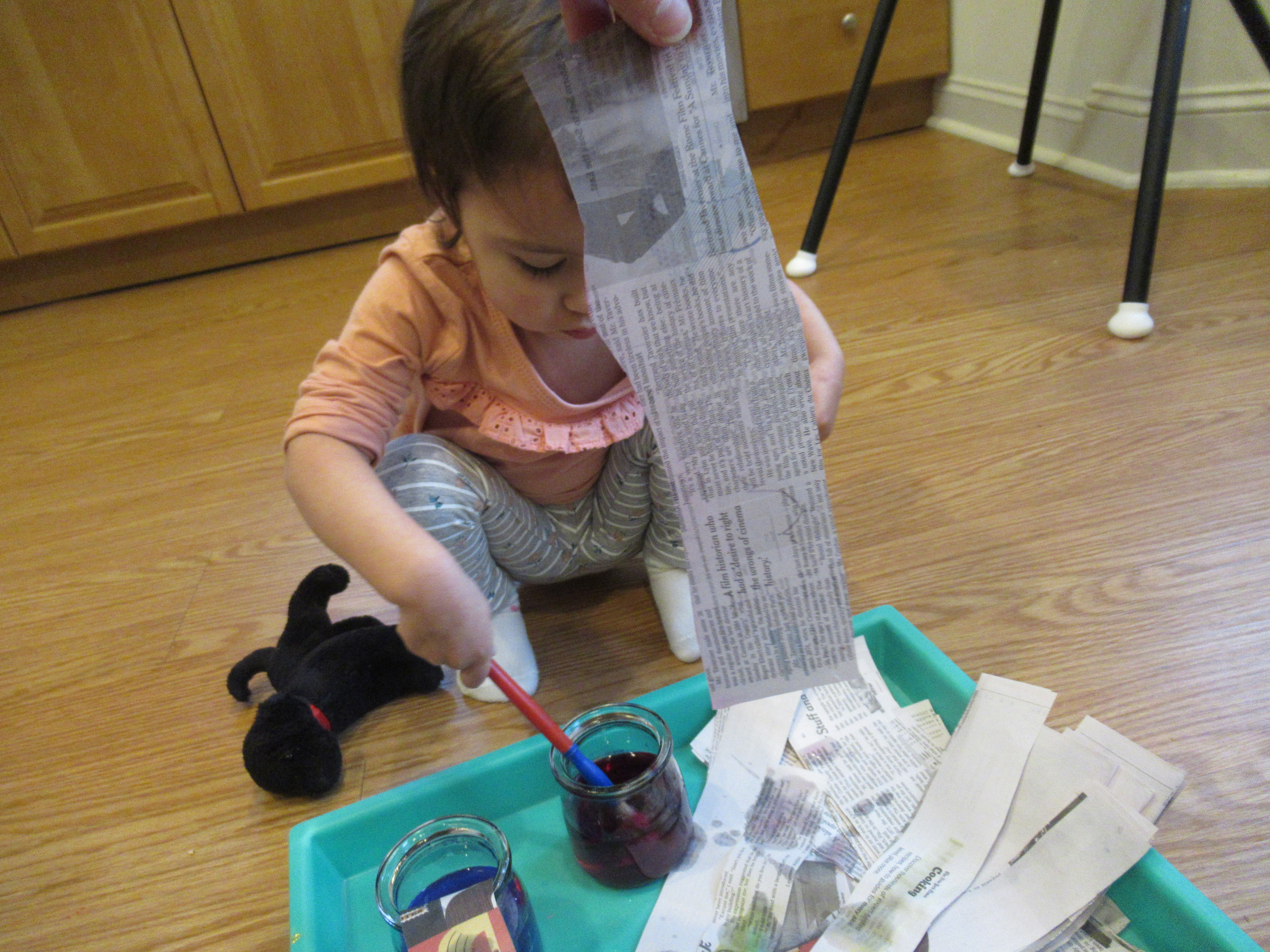Newspaper and Water (2)
