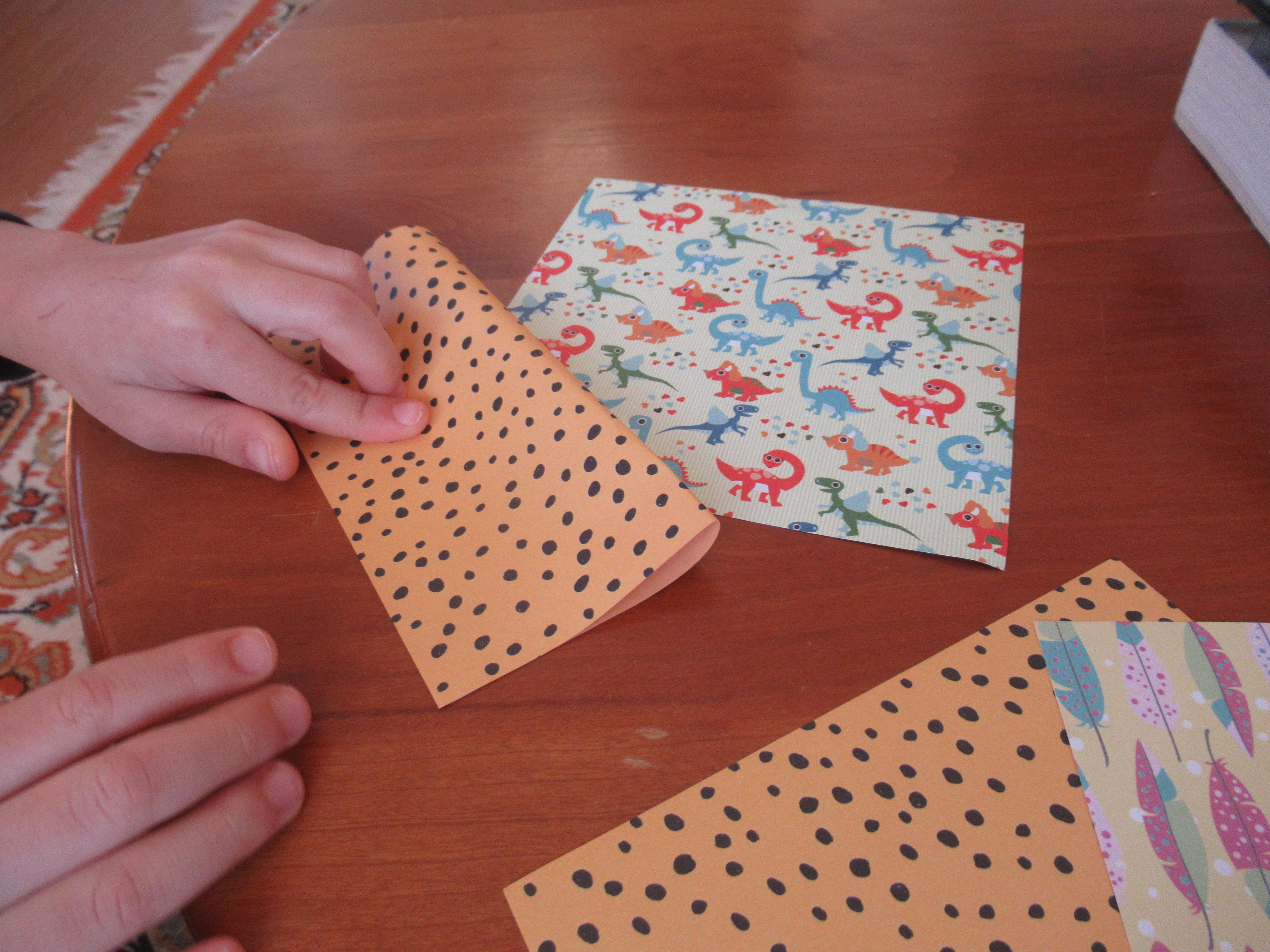 Origami Fidget Spinner (1)