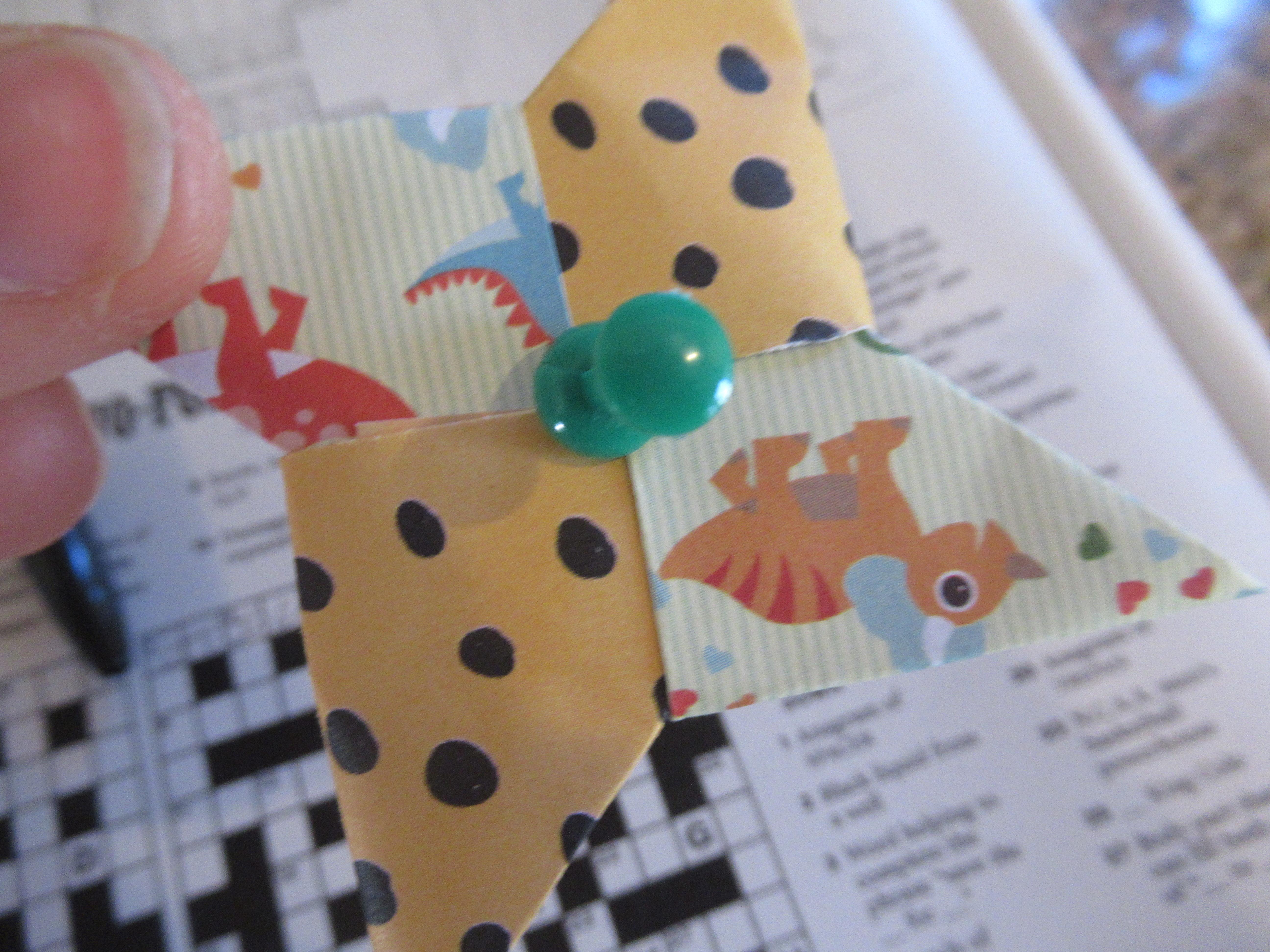 Origami Fidget Spinner (5)