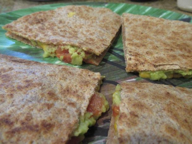 Quesadilla with Tomato and Avocado (2)