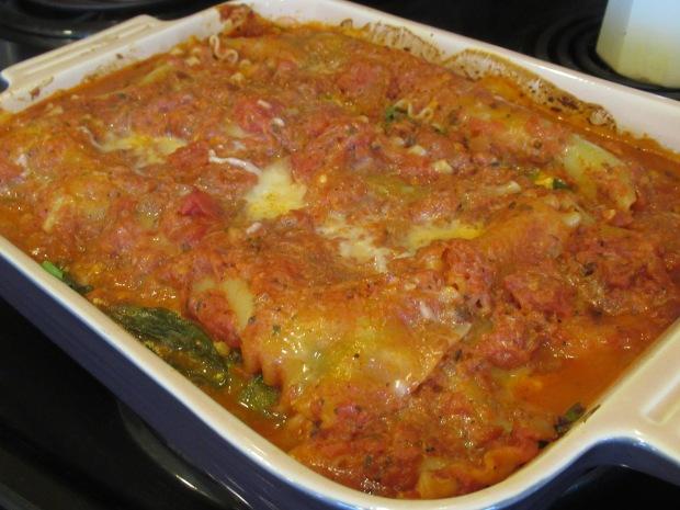 Spinach Lasagna (1)