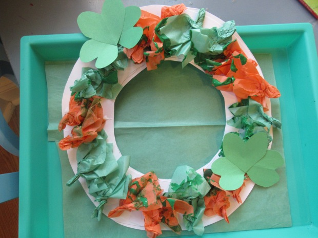 St. Patrick's Wreath (6)