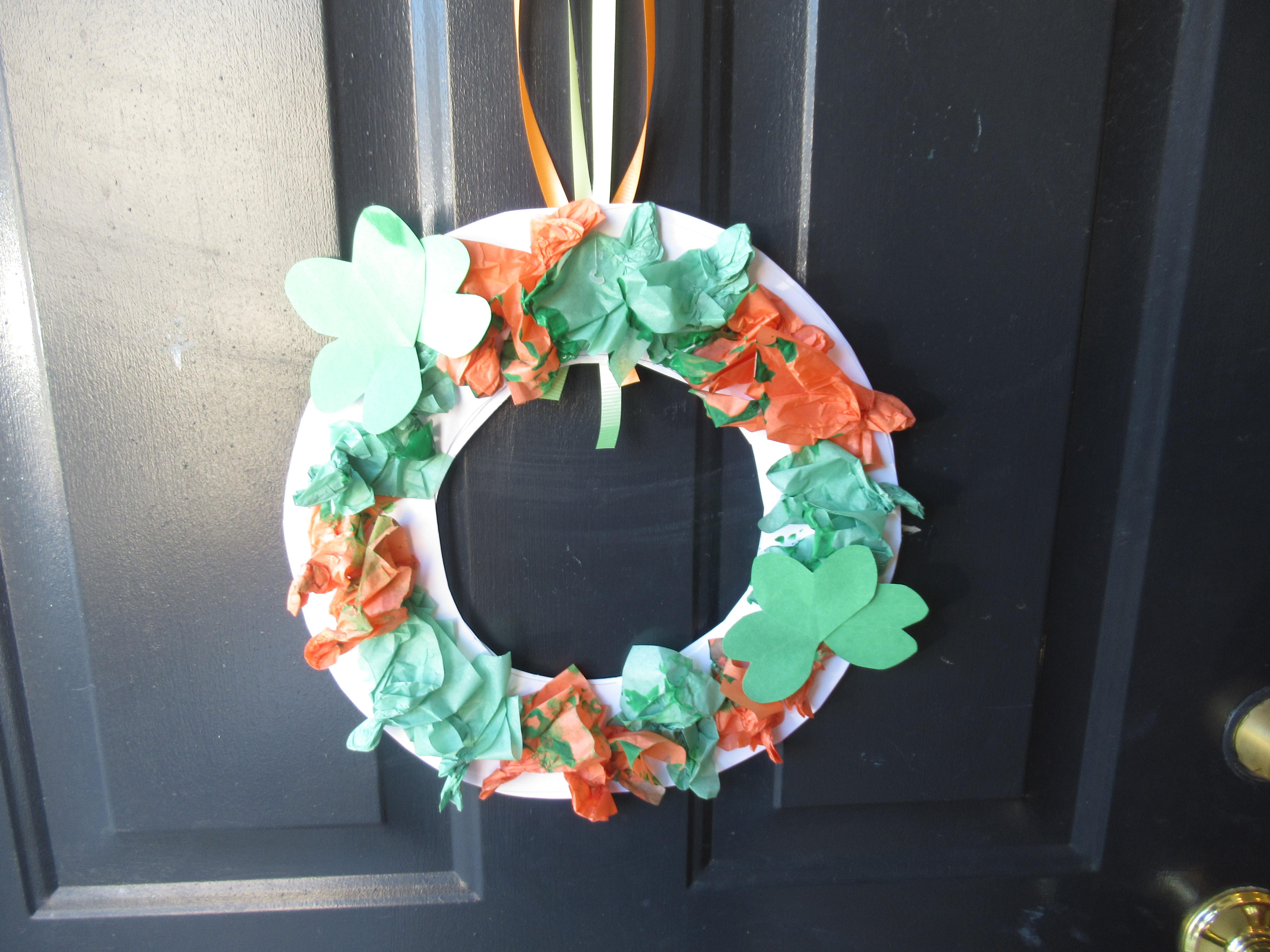 St. Patrick's Wreath (8)