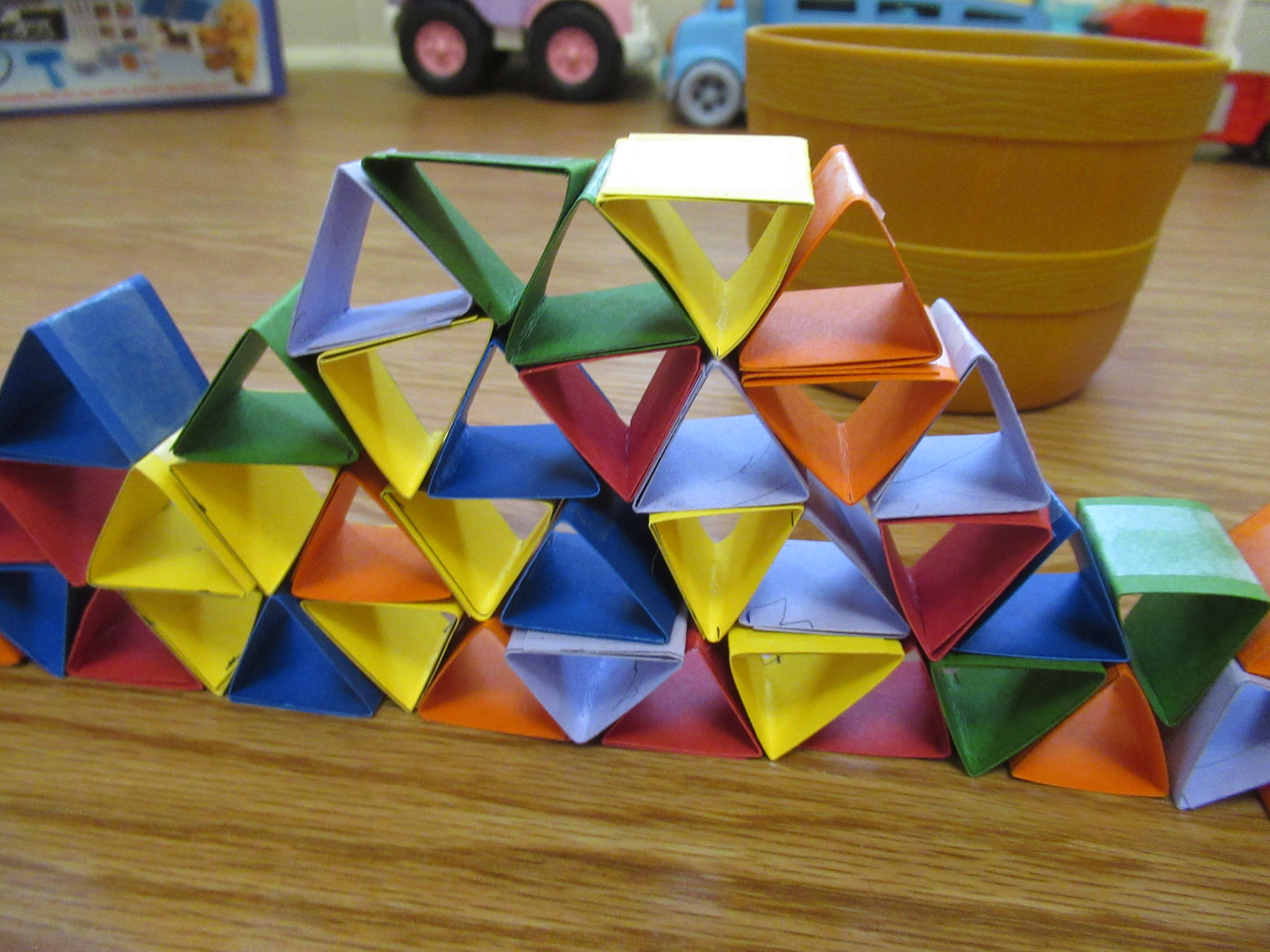 Thick Paper Towers (6)
