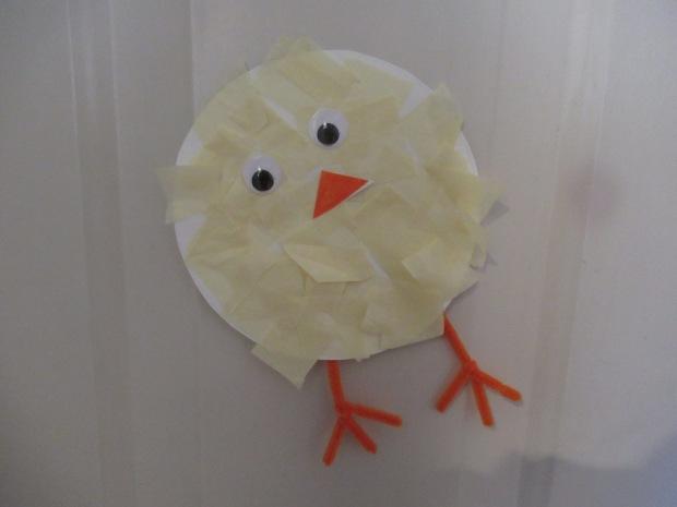 Tissue Paper Chick (6)