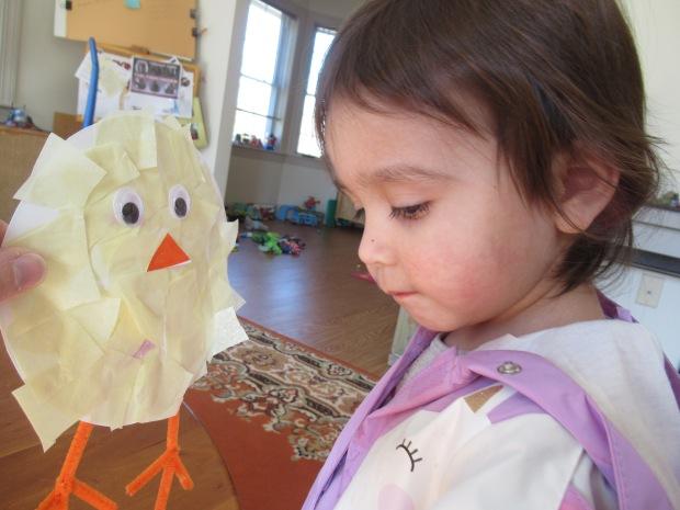 Tissue Paper Chick (7)
