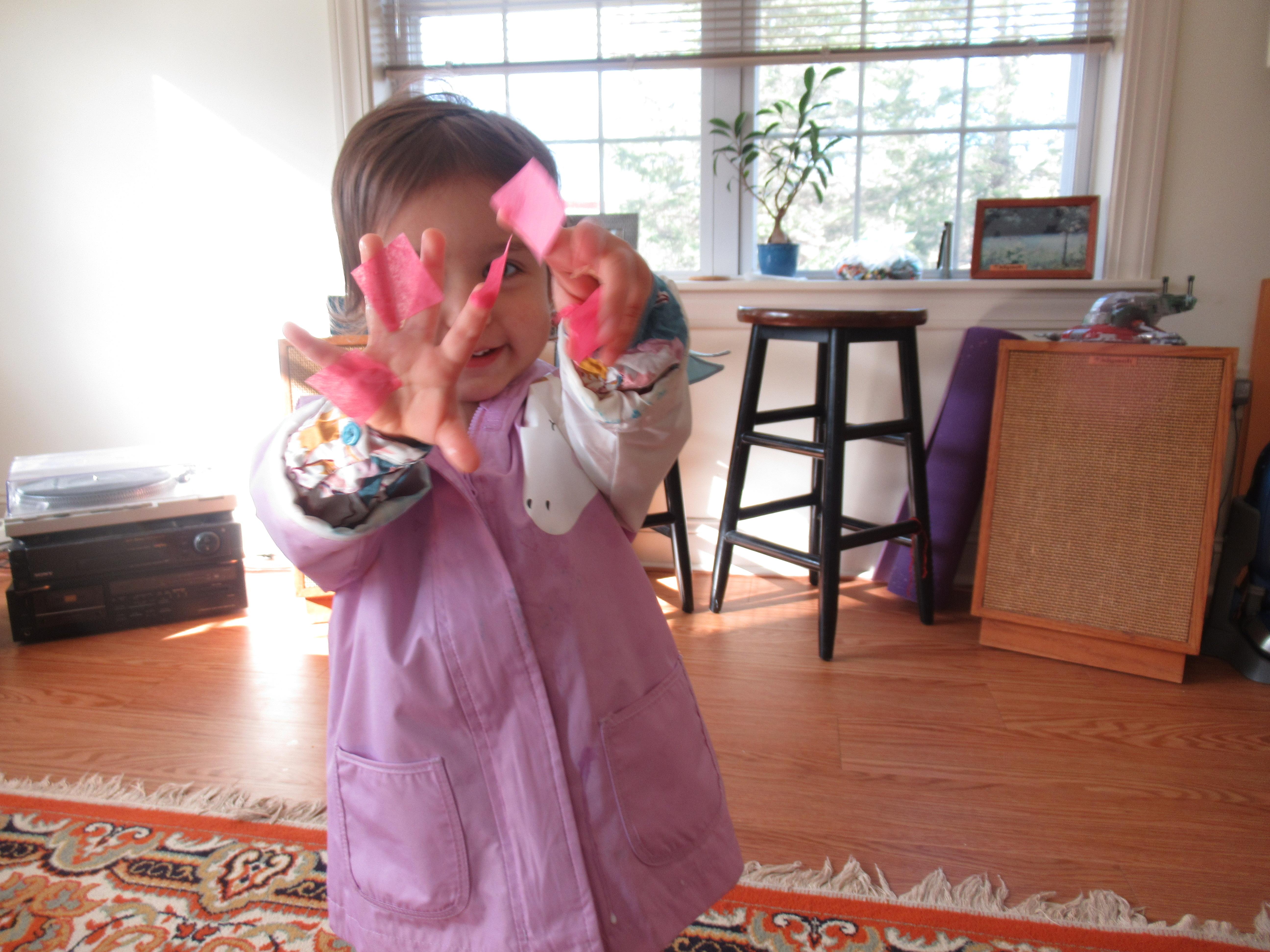 Tissue Paper Eggs (5)