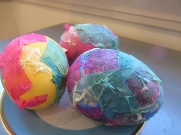 Tissue Paper Eggs (8)