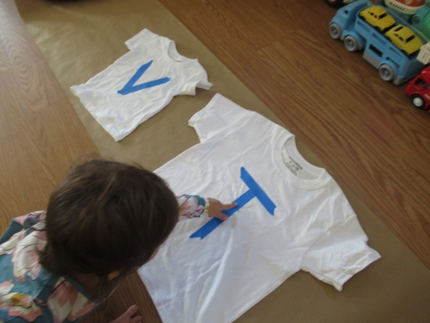 Toddler Painted T Shirt (1)