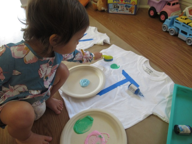 Toddler Painted T Shirt (2)