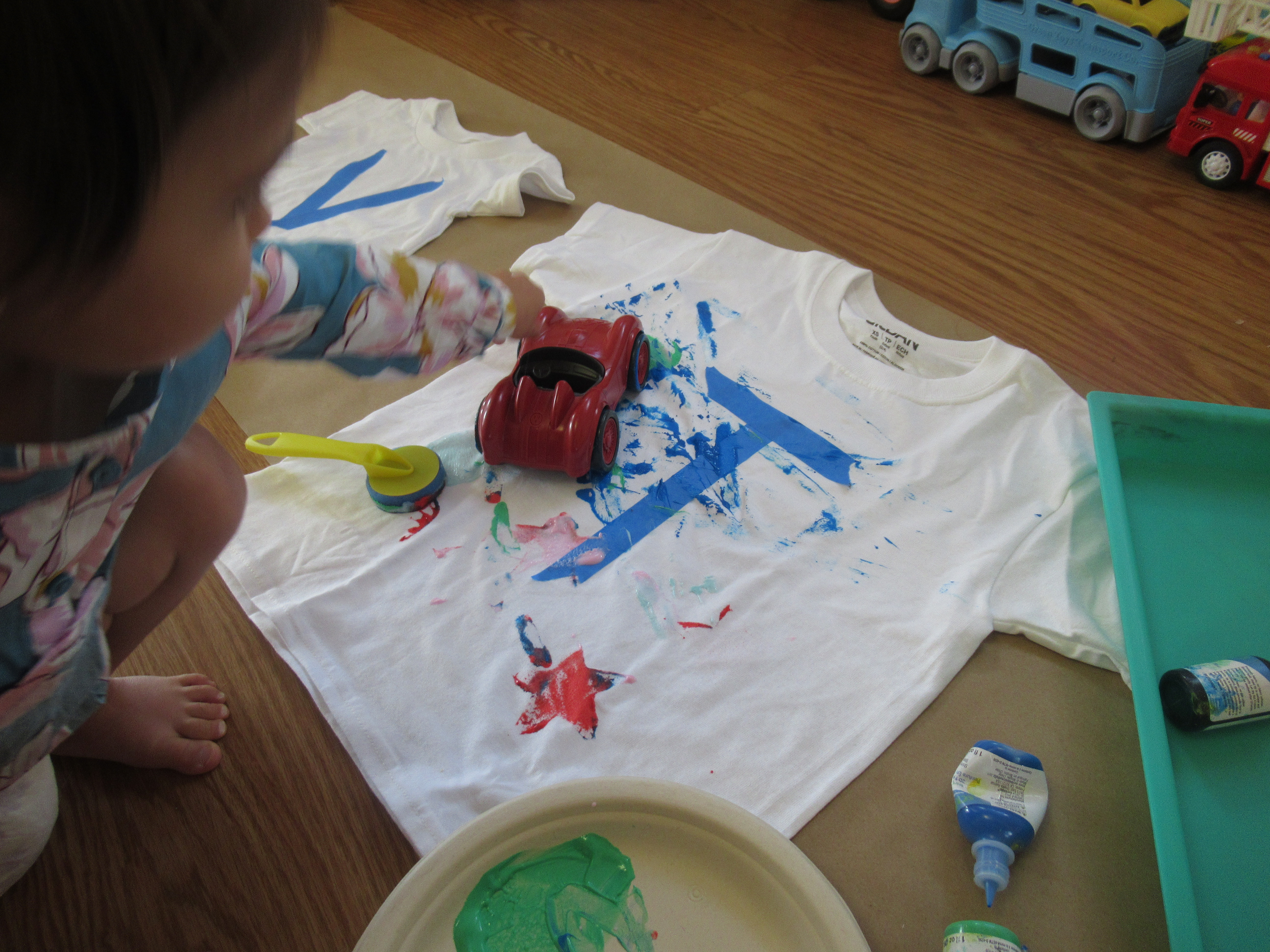 Toddler Painted T Shirt (3)