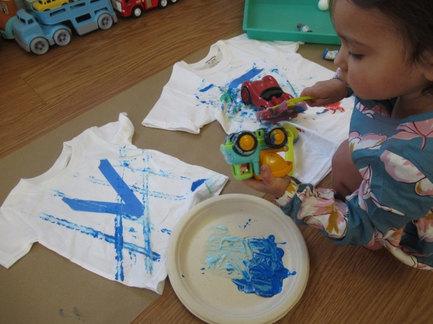 Toddler Painted T Shirt (4)