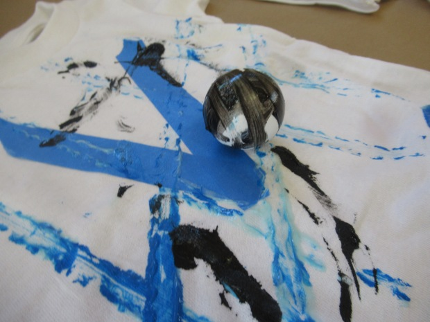 Toddler Painted T Shirt (5)