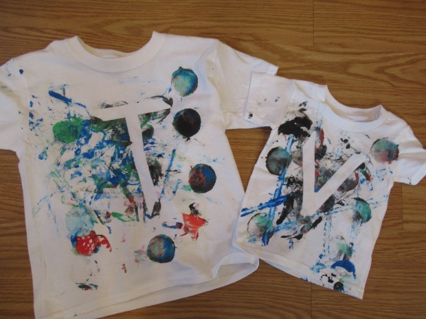 Toddler Painted T Shirt alt