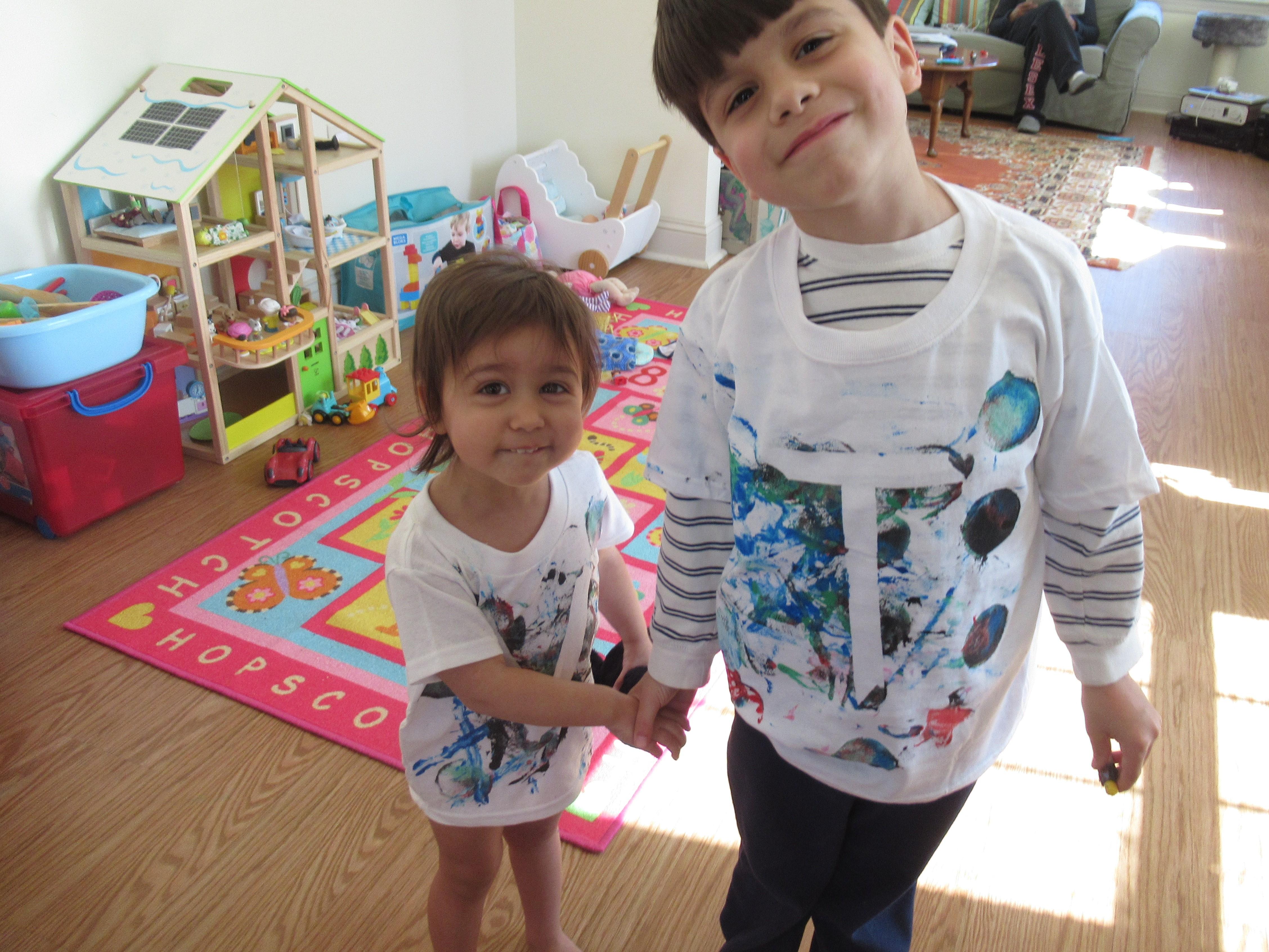Toddler Painted T Shirt final