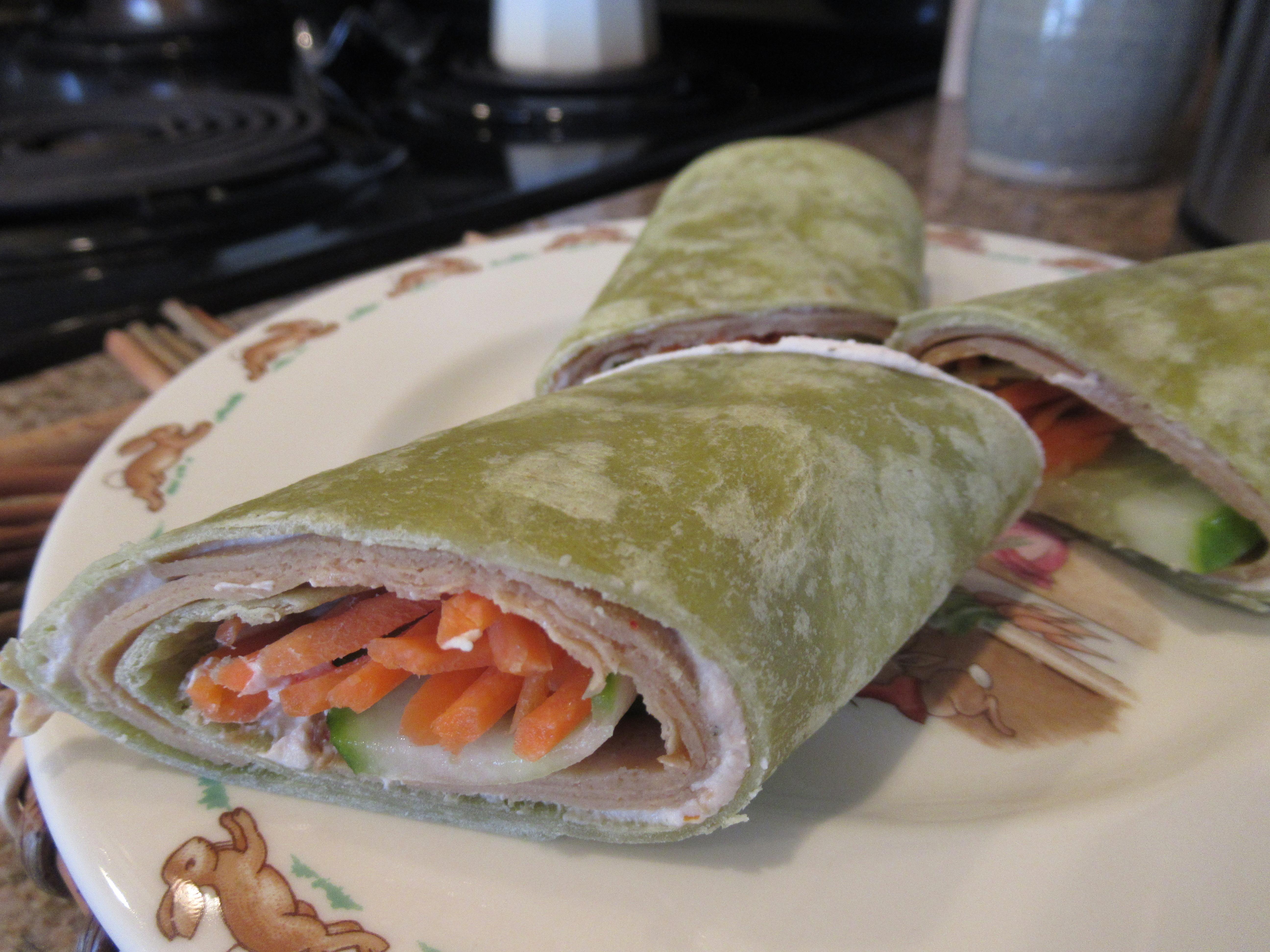 Turkey Cheese Roll-Ups (1)