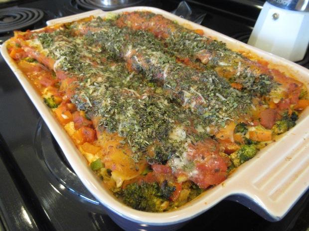 Vegetable Lasagna (1)