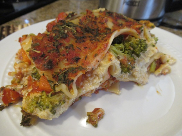 Vegetable Lasagna alt