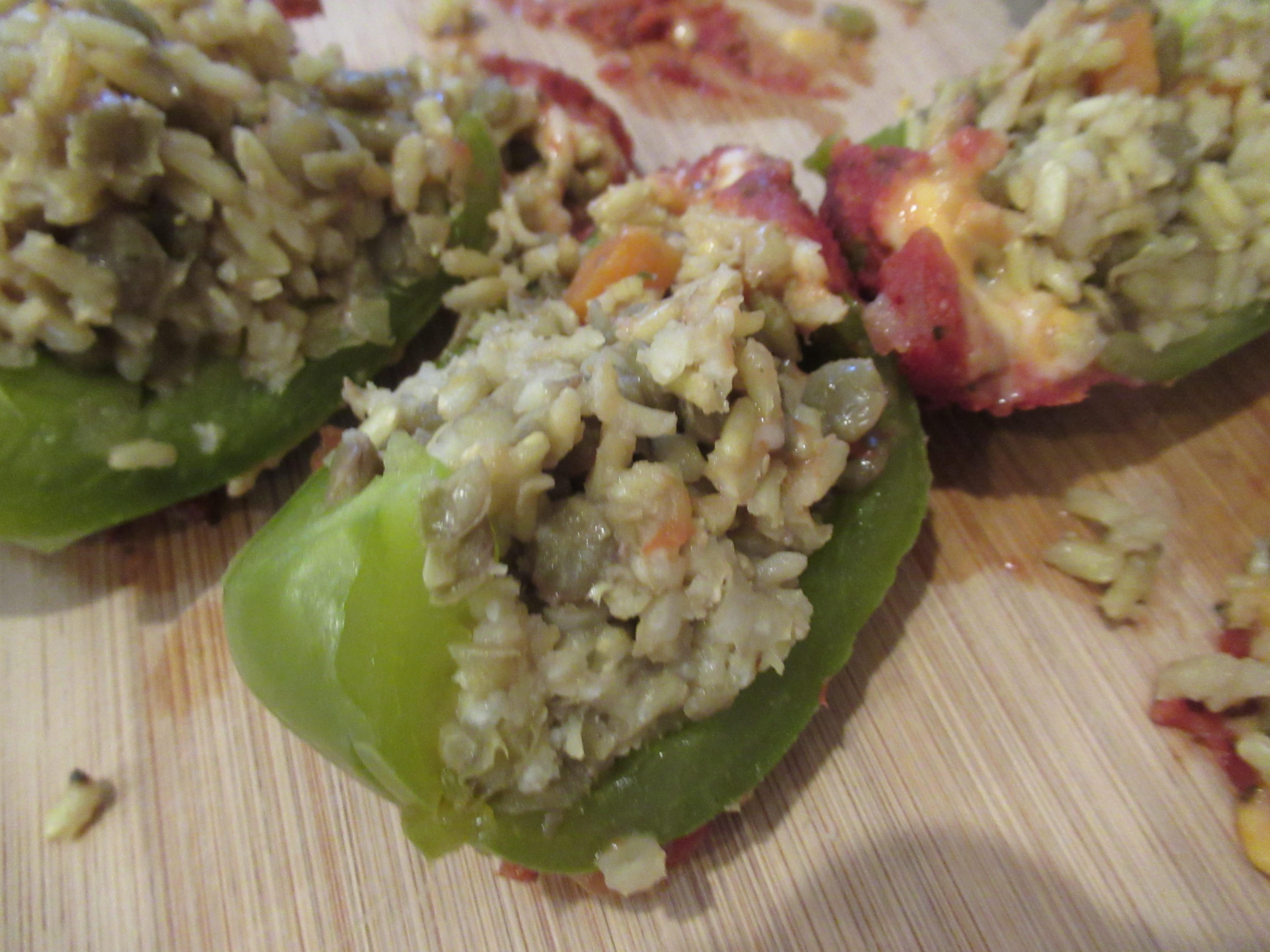Lentil Stuffed Peppers (4)