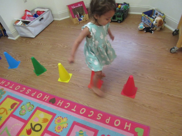 Gross Motor Color Game (2)
