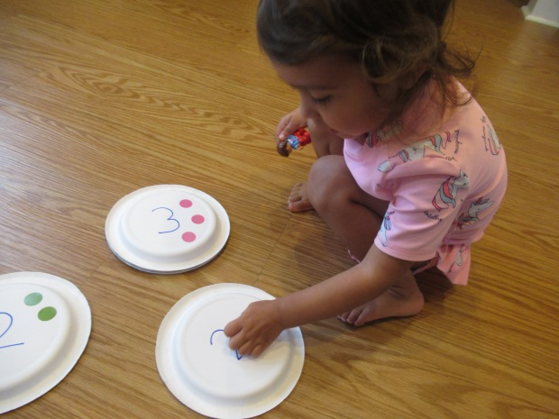 Paper Plate Numbers (2)
