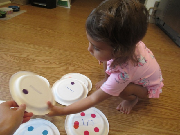 Paper Plate Numbers (5)
