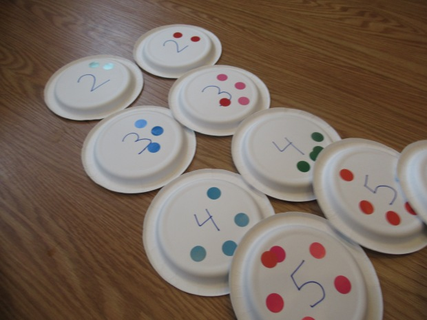 Paper Plate Numbers (7)