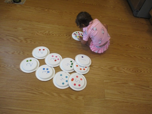 Paper Plate Numbers (8)