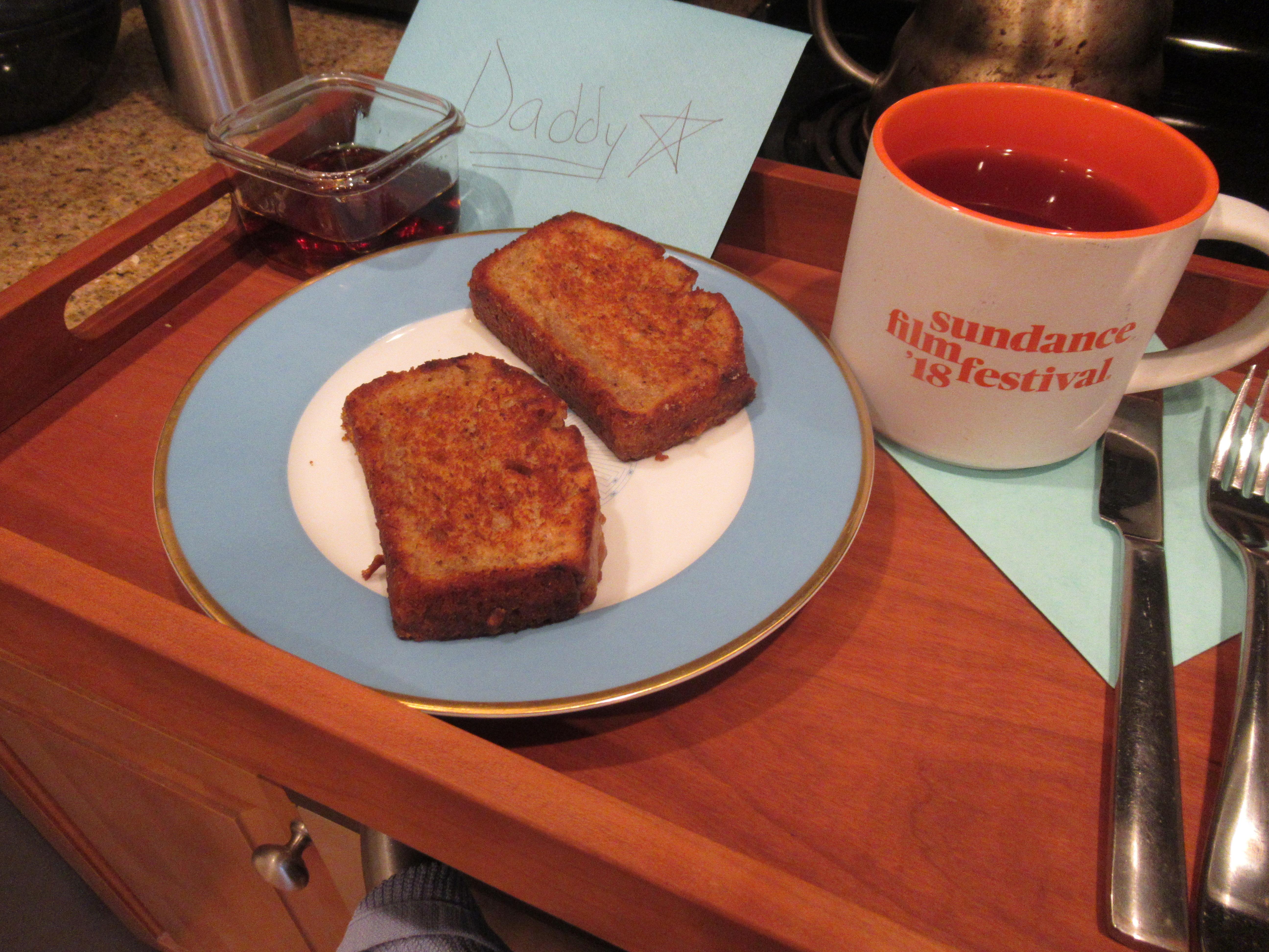 Griddled Banana Bread (4)