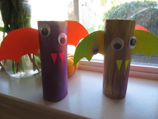 Bat Puppets (4)